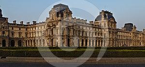 The Louvre Panoram Stock Photos - Image: 24358943