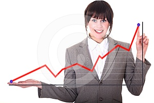 Graph Stock Images - Image: 24360224