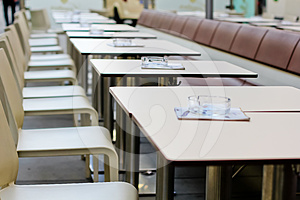 Cafe Tables Royalty Free Stock Photography - Image: 24361217