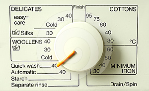 Washing Machine Programs Royalty Free Stock Photography - Image: 24361437