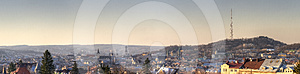 Day Panorama Of The Old City Royalty Free Stock Photos - Image: 24368938