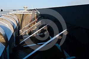 Eidersperrwerk Stock Image - Image: 24369161