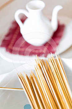 Bamboo Skewers Stock Images - Image: 24369634
