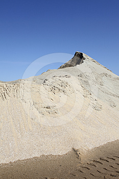 Sand Mound Stock Images - Image: 24376454