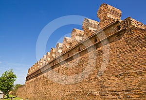 Ancient Laterite Wall Royalty Free Stock Image - Image: 24377176