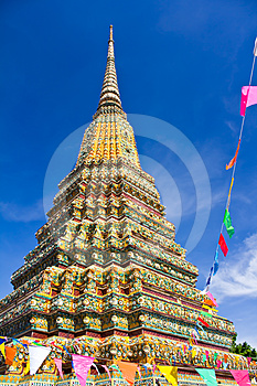 Authentic Thai Architecture In Wat Pho Stock Photo - Image: 24381100