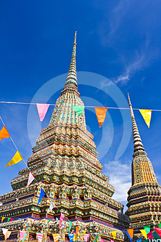 Authentic Thai Architecture In Wat Pho Royalty Free Stock Photos - Image: 24381248