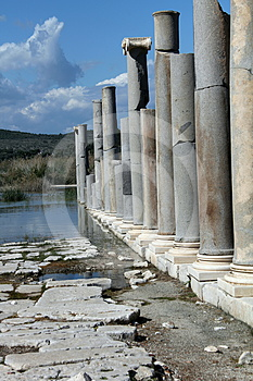 Roman Columns Stock Images - Image: 24381684