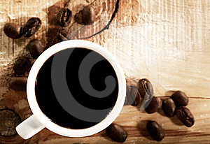 Coffee Beans Royalty Free Stock Photos - Image: 24385748