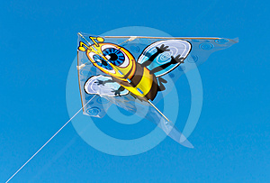 Bee Kite Stock Images - Image: 24387504