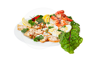 Appetizers Royalty Free Stock Image - Image: 24389496
