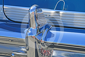Chrome Car Bumper Royalty Free Stock Photography - Image: 24390307