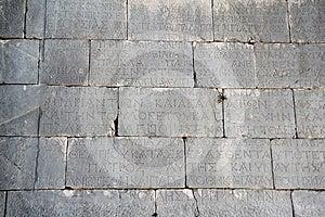 Roman Writing Royalty Free Stock Photo - Image: 24394905