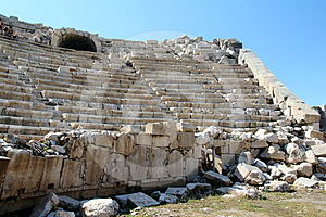 GladiatorAmphitheatre Lizenzfreies Stockbild - Bild: 24394916