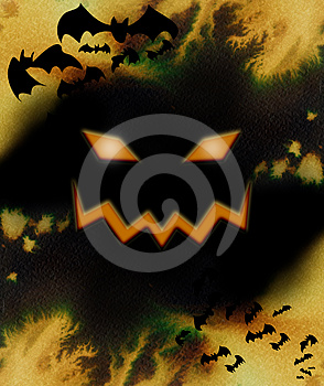 Halloween Composition Stock Images - Image: 24395764