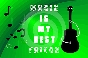 Love To Music Stock Image - Image: 24396461