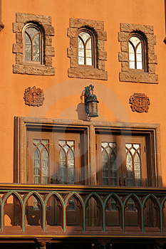 Windows And Architecture Royalty Free Stock Photography - Image: 2443817