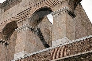 Roman Columns Stock Images - Image: 2447604
