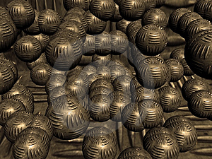 Heavy Metal Balls Stock Images - Image: 2447914