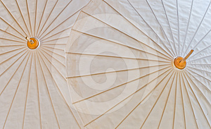 Part Of The Umbrella. Royalty Free Stock Images - Image: 24404599