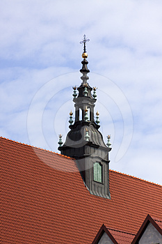 Church Tower Stock Image - Image: 24410181
