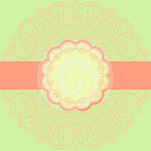 Vector Ornament. Stock Images - Image: 24421864