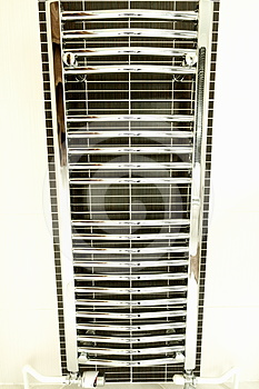 Heated Towel Rail Royalty Free Stock Images - Image: 24423659