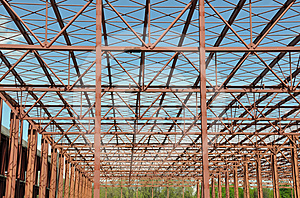 Metallic Structure Stock Image - Image: 24433111