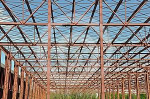Metallic Structure Stock Image - Image: 24433111