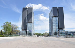 Exhibition Center Towers Stock Images - Image: 24433264