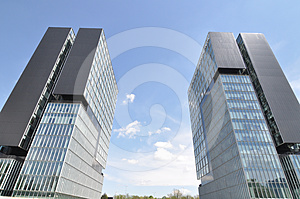Exhibition Twin Towers Stock Photography - Image: 24433282