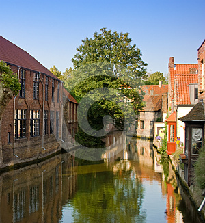 Bruges, Important Historical City Of Belgium Royalty Free Stock Photo - Image: 24444715