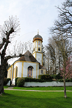 Bavarian Church Royalty Free Stock Image - Image: 24447746