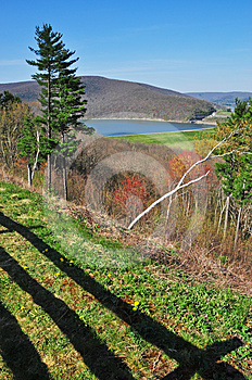 Scenic View In Pennsylvania Royalty Free Stock Image - Image: 24449396