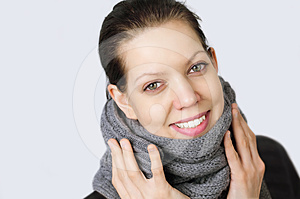 Young Woman With A Cold Stock Photography - Image: 24454222