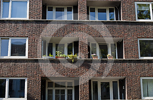 Apartment Houses Royalty Free Stock Image - Image: 24454966