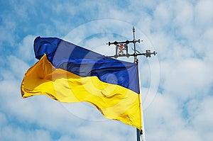 Ukrainian Flag Royalty Free Stock Photos - Image: 24463328