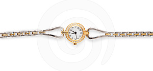 Female  Watch Royalty Free Stock Images - Image: 24464899