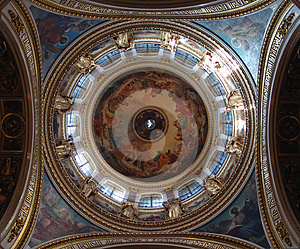 Isakiyevsky Cathedral (interior) Royalty Free Stock Photos - Image: 24473428