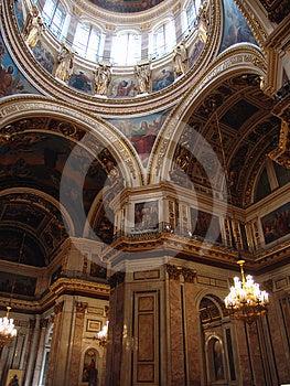 Isakiyevsky Cathedral (interior) Royalty Free Stock Photo - Image: 24473445