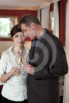 Sharing A Tender Moment Stock Photo - Image: 24476730