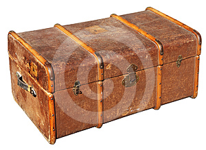 The Old Chest Royalty Free Stock Photos - Image: 24478118