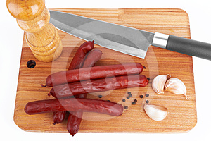 Sausage Royalty Free Stock Photography - Image: 24481267