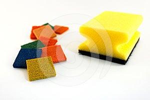 Sponge Royalty Free Stock Image - Image: 24488726