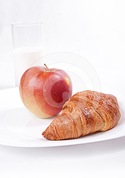 Fresh Light Breakfast Royalty Free Stock Image - Image: 24490346