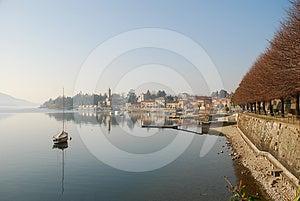 Lesa, Lake Maggiore, Italy Royalty Free Stock Images - Image: 24491219