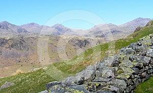 Hardknott Pass - Lake Discrict Royalty Free Stock Photography - Image: 24492207