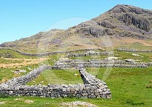 Hardknott Roman Fort Stock Photo - Image: 24492210