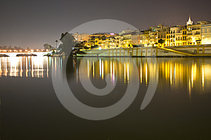 Town At Night Stock Photography - Image: 24497812