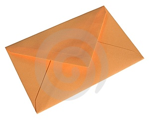 Orange Envelope Stock Images - Image: 2453284